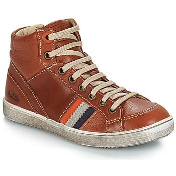Zapatos Niño Zapatillas altas GBB ANGELO Marrón