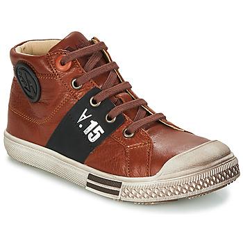 Zapatos Niño Botas de caña baja GBB RUFINO Marrón