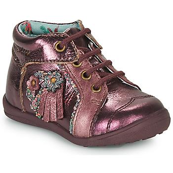 Zapatos Niña Botas de caña baja Catimini RAINETTE Vte / Bordo / Dpf / Gluck
