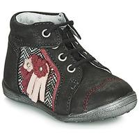 Zapatos Niña Botas de caña baja Catimini RAINETTE Ctv / Negro plata / Dpf / Gluck