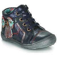 Zapatos Niña Botas de caña baja Catimini RHUBARBE Marino