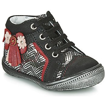 Zapatos Niña Botas de caña baja Catimini RHUBARBE Ctv / Negro plata / Dpf / 2852