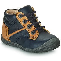 Zapatos Niño Botas de caña baja Catimini RATON Marino / Ocre