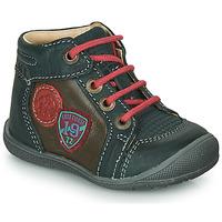 Zapatos Niño Botas de caña baja Catimini REGLISSE Verde / Marrón