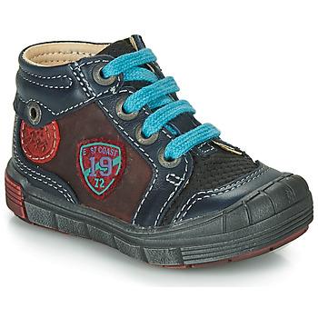 Zapatos Niño Zapatillas altas Catimini ROCOU Marino / Burdeo