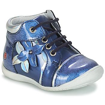 Zapatos Niña Botas de caña baja GBB SONIA Vvn / Azul - estampado / Dpf / Kezia