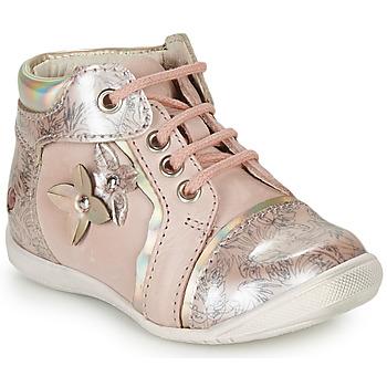 Zapatos Niña Botas de caña baja GBB SONIA Vtv / Rosa - estampado / Dpf / Kezia