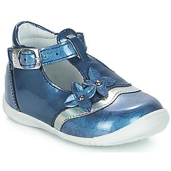 Zapatos Niña Bailarinas-manoletinas GBB SELVINA Azul