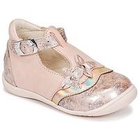 Zapatos Niña Bailarinas-manoletinas GBB SELVINA Rosa