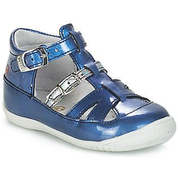 Zapatos Niña Sandalias GBB SARAH Vvn / Azul - estampado / Dpf / Kezia