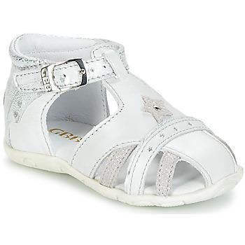 Zapatos Niña Sandalias GBB SUZANNE Vte / Gris plateado / Dpf / Zabou