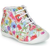 Zapatos Niña Botas de caña baja GBB SIDONIE Vte / Florido / Dpf / Kezia