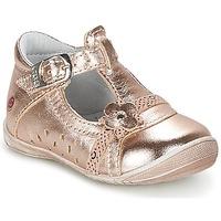 Zapatos Niña Bailarinas-manoletinas GBB SIXTINE Rosa / Dorado