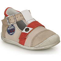 Zapatos Niño Sandalias GBB STANISLAS Vtc / Beige-rojo / Dpf / Raiza