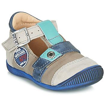 Zapatos Niño Sandalias GBB STANISLAS Vtc / Topo - azul / Dpf / Raiza