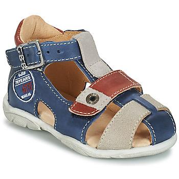 Zapatos Niño Sandalias GBB SULLIVAN Vtc / Marino / Dpf / Filou
