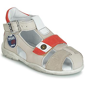 Zapatos Niño Sandalias GBB SULLIVAN Vtc / Beige-rojo / Dpf / Filou