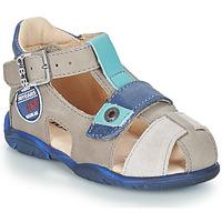Zapatos Niño Sandalias GBB SULLIVAN Gris / Azul