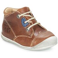 Zapatos Niño Botas de caña baja GBB SAMUEL Marrón