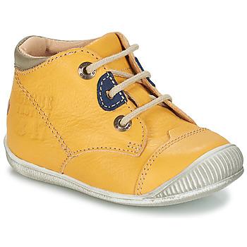 Zapatos Niño Botas de caña baja GBB SAMUEL Vte / Amarillo / Dpf / Raiza