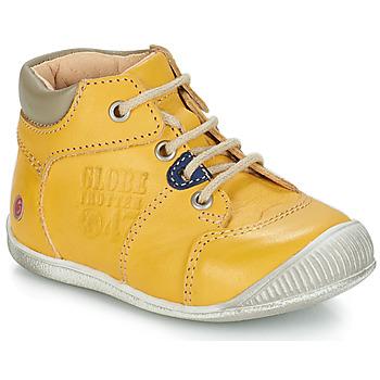 Zapatos Niño Botas de caña baja GBB SIMEON Vte / Amarillo / Dpf / Raiza