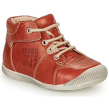 Zapatos Niño Botas de caña baja GBB SIMEON Marrón