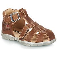 Zapatos Niño Sandalias GBB PRIGENT Marrón