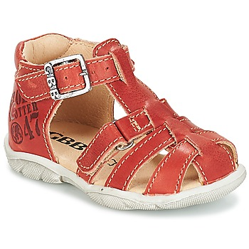 Zapatos Niño Sandalias GBB PRIGENT Vte / Rojizo / Dpf / Filou