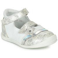 Zapatos Niña Bailarinas-manoletinas GBB STACY Blanco