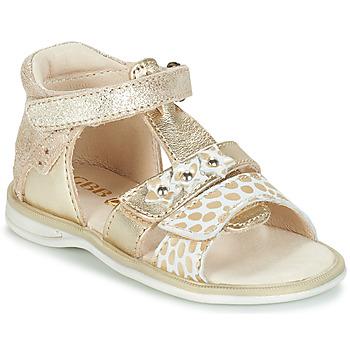 Zapatos Niña Sandalias GBB SYLVIE Oro