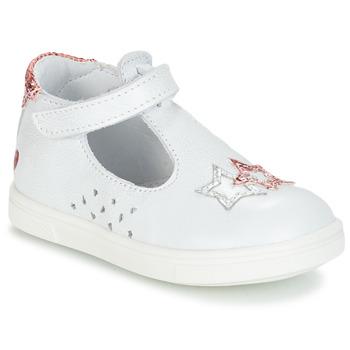 Zapatos Niña Bailarinas-manoletinas GBB SABRINA Blanco