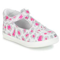Zapatos Niña Sandalias GBB SABRINA Gris / Rosa / Blanco