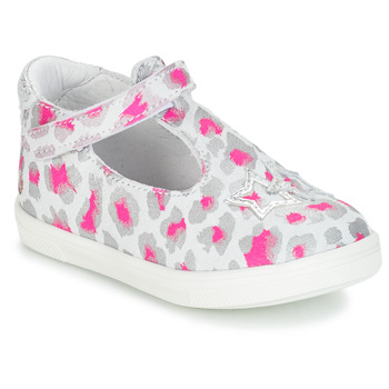 Zapatos Niña Bailarinas-manoletinas GBB SABRINA Gris / Rosa / Blanco