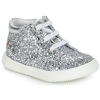 Zapatos Niña Botas de caña baja GBB SACHA Plata