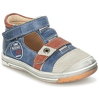 Zapatos Niño Sandalias GBB SOREL Marino / Marrón