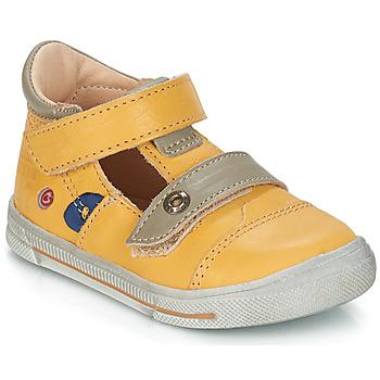 Zapatos Niño Sandalias GBB STEVE Vte / Amarillo / Dpf / Snow