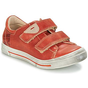 Zapatos Niño Botas de caña baja GBB SEBASTIEN Rojo