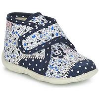 Zapatos Niña Pantuflas GBB PASCALINE Azul / Blanco