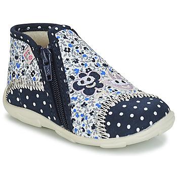 Zapatos Niña Pantuflas GBB PILI Azul / Blanco