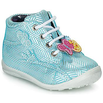 Zapatos Niña Botas de caña baja Catimini SALAMANDRE Vte / Cielo - plata / Dpf / Gluck