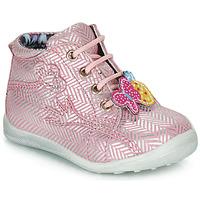 Zapatos Niña Botas de caña baja Catimini SALAMANDRE Vte / Rosa - plata / Dpf / Gluck