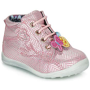Zapatos Niña Botas de caña baja Catimini SALAMANDRE Rosa