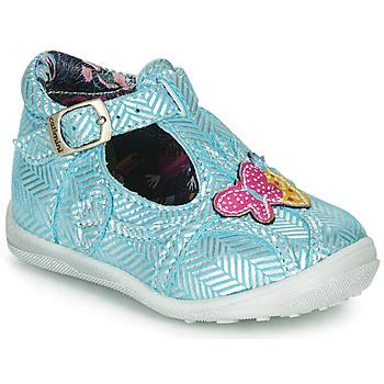 Zapatos Niña Botas de caña baja Catimini SOLEIL Vte / Cielo - plata / Dpf / Gluck