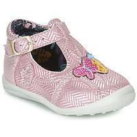 Zapatos Niña Botas de caña baja Catimini SOLEIL Vte / Rosa - plata / Dpf / Gluck
