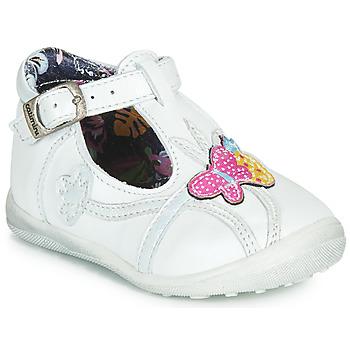 Zapatos Niña Botas de caña baja Catimini SOLEIL Vte / Blanco / Dpf / Gluck