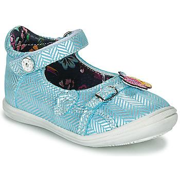 Zapatos Niña Bailarinas-manoletinas Catimini SITELLE Vte / Cielo - plata / Dpf / 2851