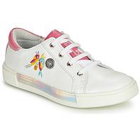 Zapatos Niña Zapatillas altas Catimini SYLPHE Vte / Blanco rosa / Dpf / Blanco