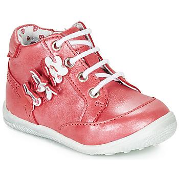 Zapatos Niña Botas de caña baja Catimini SOLDANELLE Vte / Rojo / Nacar / Dpf / Gluck
