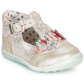 Zapatos Niña Botas de caña baja Catimini SALICORNE Vtc / Rosa / Dpf / Gluck