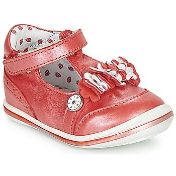 Zapatos Niña Sandalias Catimini SANTOLINE Vte / Rojo / Nacar / Dpf / 2851